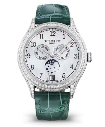 4948G-010 : Patek Philippe Annual Calendar 4948 White Gold Black Mother of Pearl