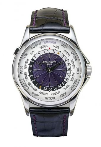 Patek Philippe 5130P-029 : World Time 5130 Platinum / Hamilton & Inches