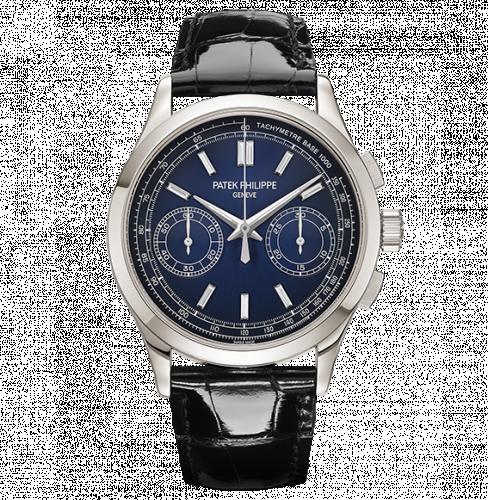 Patek Philippe 5170P-001 : Chronograph 5170 Platinum / Blue