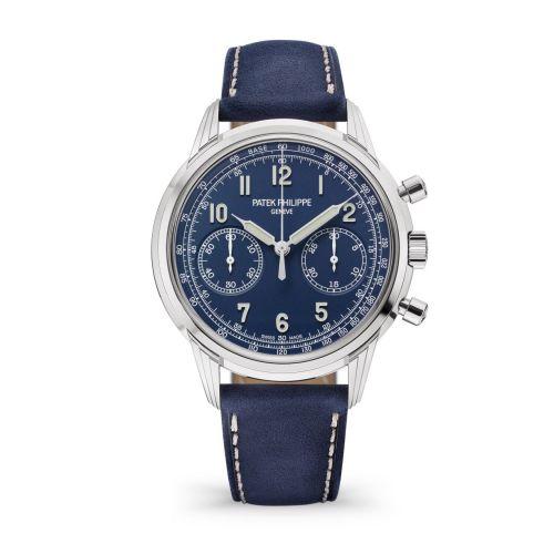 Patek Philippe 5172G-001 : Chronograph 5172 White Gold / Blue