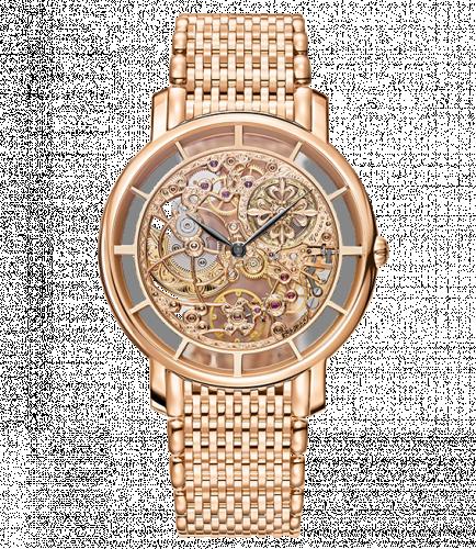 Patek Philippe 5180/1R-001 : Calatrava 5180/1 Rose Gold / Skeleton