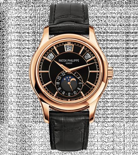 Patek Philippe 5205R-010 : Annual Calendar 5205 Rose Gold / Black