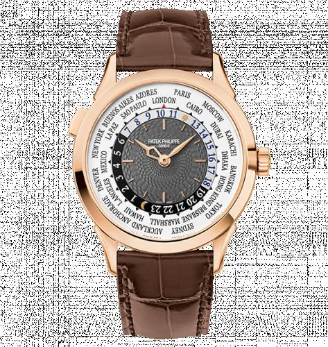 Patek Philippe 5230R-001 : World Time 5230R Rose Gold / Grey / Hong Kong