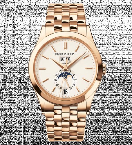 Patek Philippe 5396/1R-010 : Annual Calendar 5396 Rose Gold Bracelet