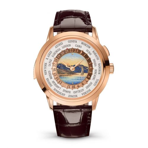 Patek Philippe 5531R-001 : World Time Minute Repeater Rose Gold / Lavaux / Hong Kong