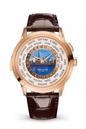 5531R-010 : Patek Philippe World Time Minute Repeater Rose Gold / New York Daytime