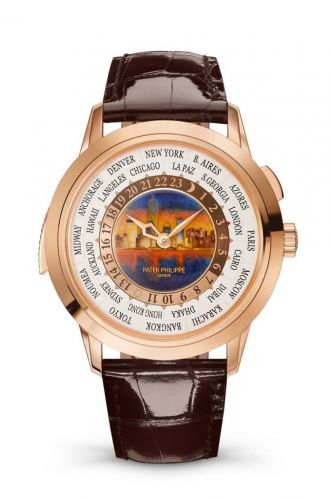 Patek Philippe 5531R-011 : World Time Minute Repeater Rose Gold / New York Nighttime
