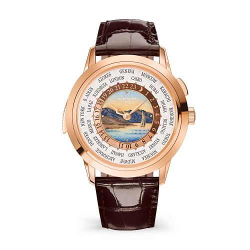 Patek Philippe 5531R-012 : World Time Minute Repeater Rose Gold / Lavaux / Beijing