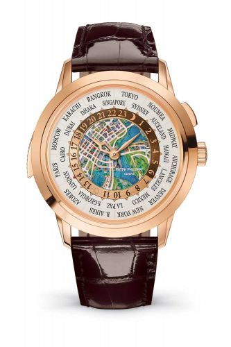 5531R-013 : Patek Philippe World Time Minute Repeater Rose Gold / Singapore 2019
