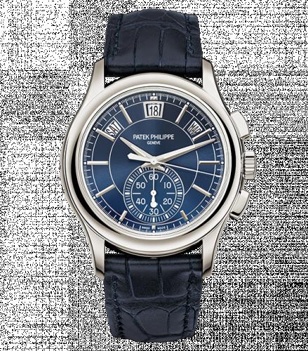 Patek Philippe 5905P-001 : Annual Calendar Chronograph 5905 Platinum / Blue