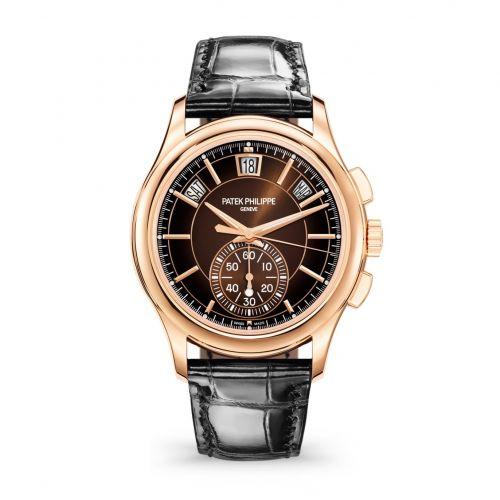 5905R-001 : Patek Philippe Annual Calendar Chronograph 5905 Rose Gold / Brown