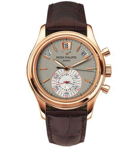 5960R-001 : Patek Philippe Annual Calendar Chronograph 5960 Rose Gold / Grey