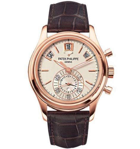 5960R-011 : Patek Philippe Annual Calendar Chronograph 5960 Rose Gold / Silver