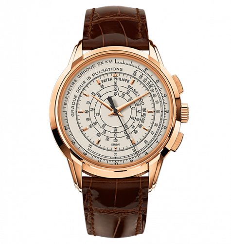 Patek Philippe 5975R-001 : Multi-Scale Chronograph 5975