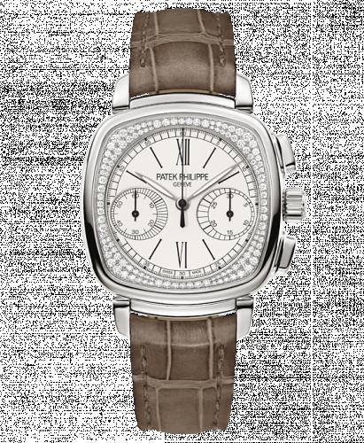 7071G-001 : Patek Philippe Chronograph 7071 White Gold Silver