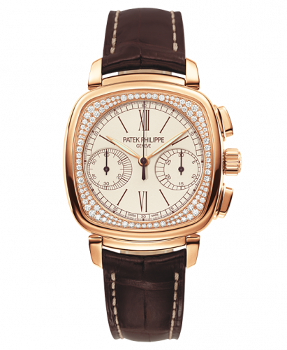 7071R-001 : Patek Philippe Chronograph 7071 Rose Gold Silver