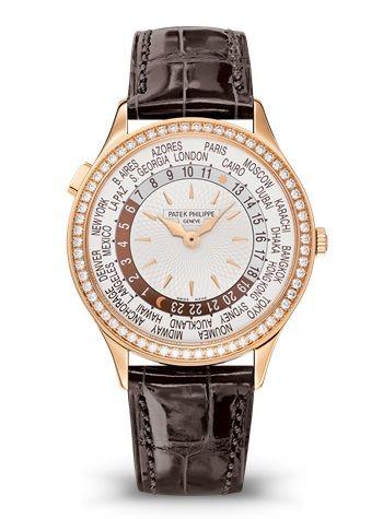 Patek Philippe 7130R-011 : World Time 7130 Rose Gold / Ivory