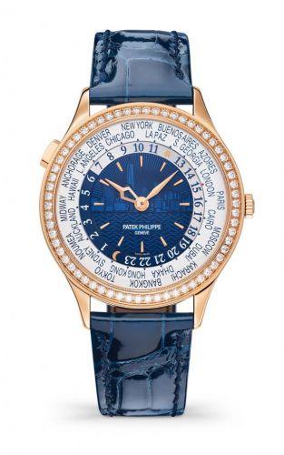 7130R-012 : Patek Philippe World Time 7130 Rose Gold New York