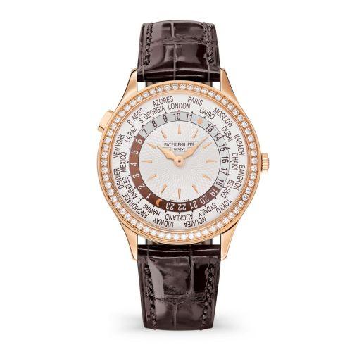 Patek Philippe 7130R-013 : World Time 7130 Rose Gold / Silver / Beijing
