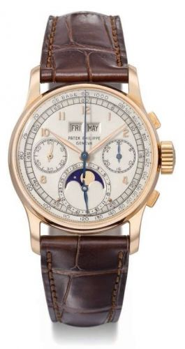 1518J : Patek Philippe Perpetual Calendar Chronograph 1518