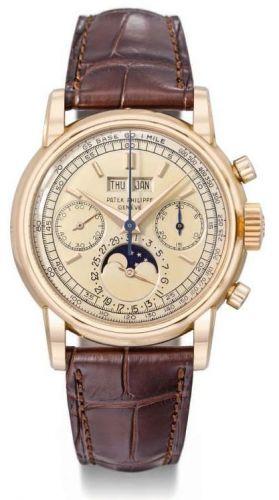 Patek Philippe 2449R Series 2 : Perpetual Calendar Chronograph 2499