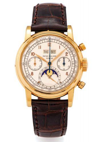 2499J Series 2 : Patek Philippe Perpetual Calendar Chronograph 2499