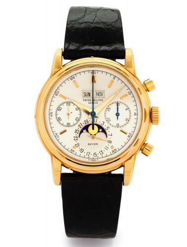 2499J Series 4 : Patek Philippe Perpetual Calendar Chronograph 2499