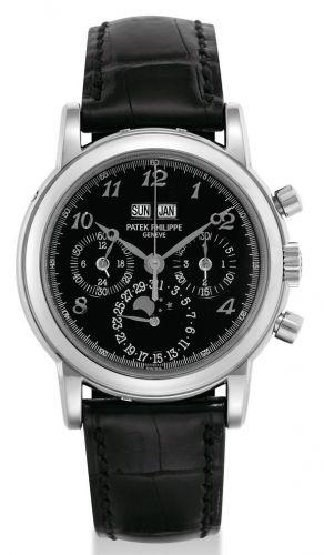 Patek Philippe 3970G_Breguet : Perpetual Calendar Chronograph 3970G Black Breguet