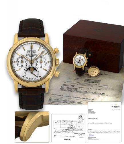 Patek Philippe 3970J_Luminous : Perpetual Calendar Chronograph 3970J Luminous