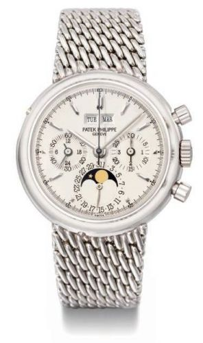 3970P/2 : Patek Philippe Perpetual Calendar Chronograph 3970