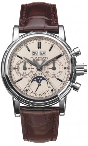 5004A-001 : Patek Philippe Perpetual Calendar Split Seconds Chronograph 5004 Stainless Steel