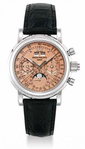 5004G_Salmon : Patek Philippe Perpetual Calendar Split Seconds Chronograph 5004G Salmon