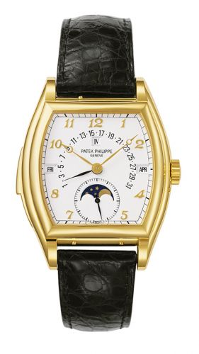 5013J-001 : Patek Philippe Perpetual Calendar Minute Repeater 5013 Yellow Gold