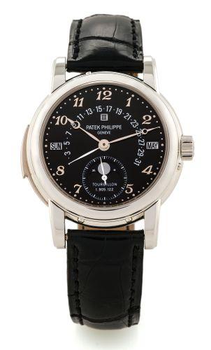 Patek Philippe 5016P-001 : Tourbillon Minute Repeater Perpetual Calendar 5016 Platinum / Black Breguet