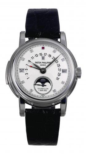 Patek Philippe 5016P WD : Tourbillon Minute Repeater Perpetual Calendar 5016P White Diamond