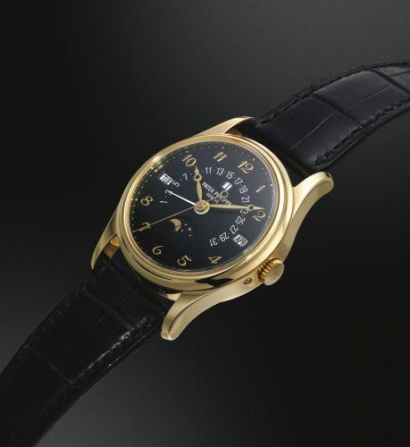 Patek Philippe 5050J-024 : Perpetual Calendar 5050 Yellow Gold / Black Breguet