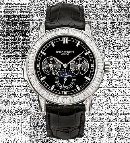 5073P-001 : Patek Philippe Minute Repeater Perpetual Calendar 5073P Black