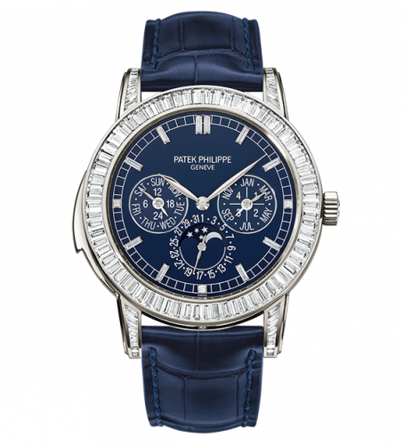 5073P-010 : Patek Philippe Minute Repeater Perpetual Calendar 5073P Blue