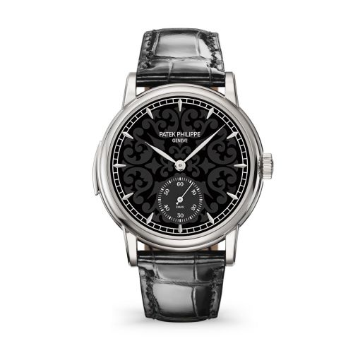 5078G-010 : Patek Philippe Minute Repeater 5078 White Gold / Arabesque Enamel
