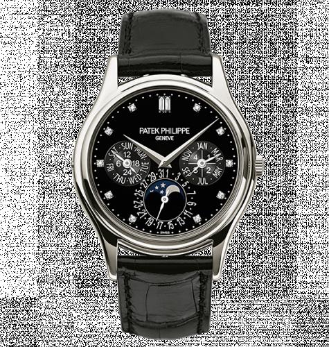 Patek Philippe 5140P-013 : Perpetual Calendar 5140 Platinum Black