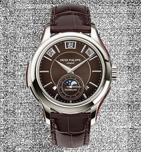 5207/700P-001 : Patek Philippe Tourbillon Minute Repeater Perpetual Calendar 5207 Platinum / Brown