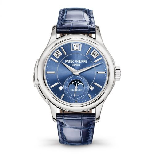 Patek Philippe 5207G-001 : Tourbillon Minute Repeater Perpetual Calendar 5207 White Gold / Blue