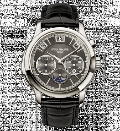 5208P-001 : Patek Philippe Minute Repeater Perpetual Calendar Chronograph 5208 Platinum / Grey