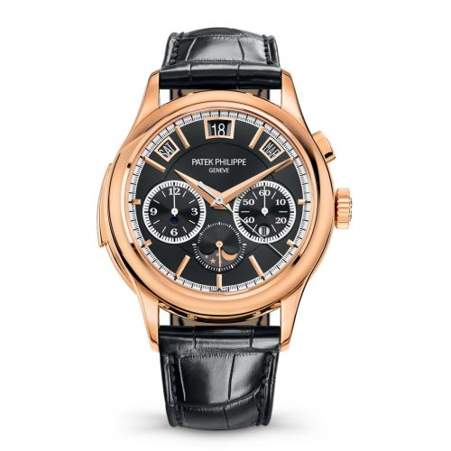 5208R-001 : Patek Philippe Minute Repeater Perpetual Calendar Chronograph 5208 Rose Gold / Black