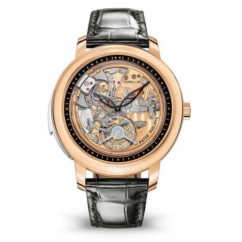 5303R-001 : Patek Philippe Tourbillon Minute Repeater 5303R Rose Gold / Skeleton