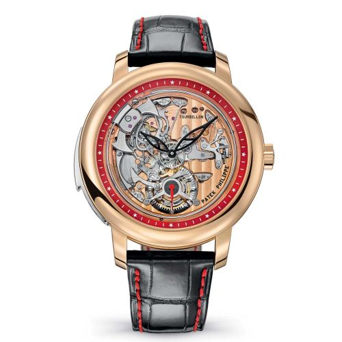 Patek Philippe 5303R-010 : Tourbillon Minute Repeater 5303R Rose Gold / Skeleton / Singapore 2019