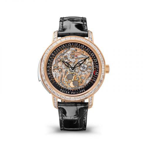 Patek Philippe 5304/301R-001 : Minute Repeater Perpetual Calendar 5304 Rose Gold / Skeleton