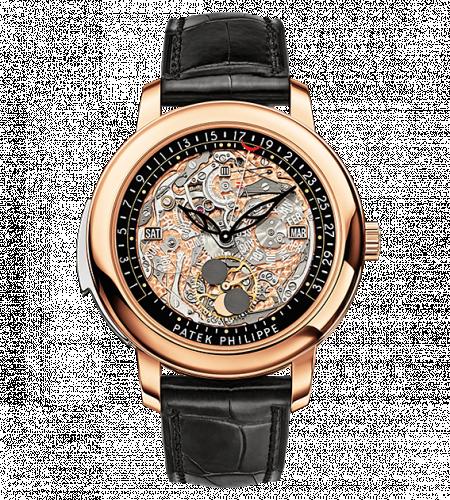 5304R-001 : Patek Philippe Minute Repeater Perpetual Calendar 5304 Rose Gold / Skeleton