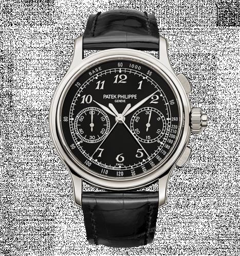 Patek Philippe 5370P-001 : Split-Seconds Chronograph 5370 Platinum / Black