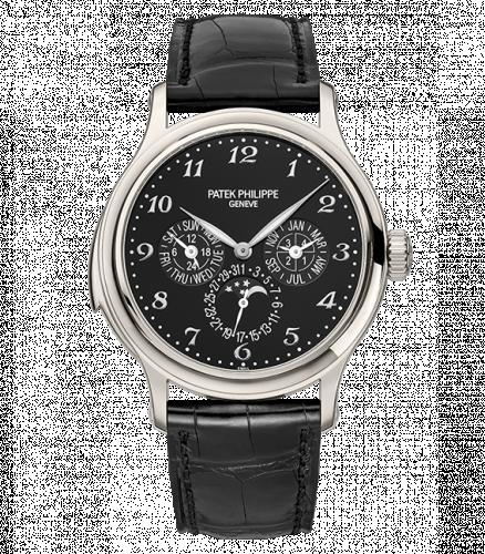 5374P-001 : Patek Philippe Minute Repeater Perpetual Calendar 5374 Platinum / Black